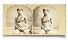 Jeune femme du Gabon