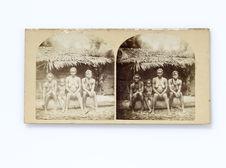 Femmes de la tribu des Pahouins