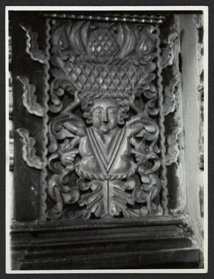 Sans titre [pilier sculpté, église Santo Domingo de Tunja]