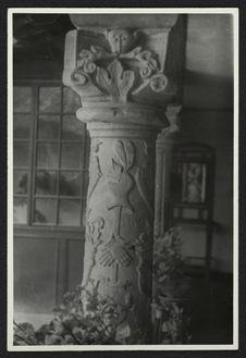 Tunja, colonne de la maison de Gabriel Zubilta [?]