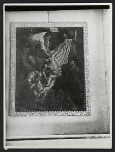 Tunja, église de Sto Domingo, La déposition de la Croix
