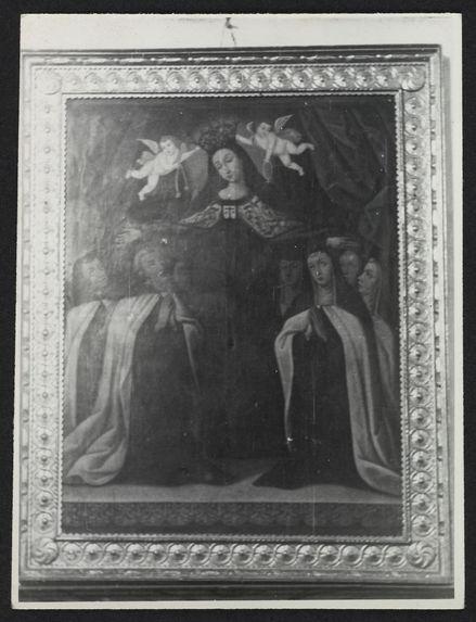 Tunja, église de Ste Barbara, tableau de la Vierge