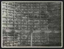 Tunja, El Topo, détail du ciel de la nef
