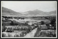 Mitla, paysage des environs, pris de la pyramide