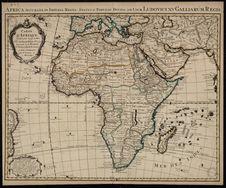 Africa accurate in Imperia, Regna, Status & Populos Divisa, ad usum Ludovici...