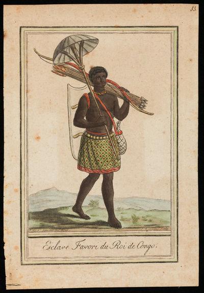 Esclave favori du roi du Congo