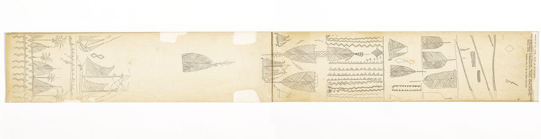 Bambou du Dr. Et. Loppé [motif de gravure sur bambou]