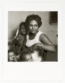 Fauzilla Mahmoud Ahmed et ses enfants