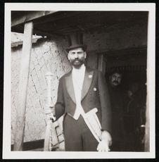 Matezar Kvieck [?] roi des Tsiganes