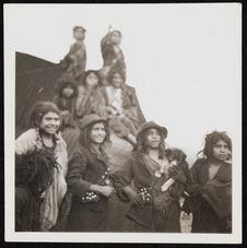 Enfants tsiganes nomades