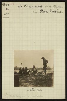 Le campement de la Mission au Bas-Cunène