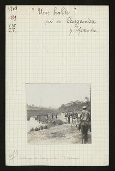 Une halte près de Cangamba, 17 septembre