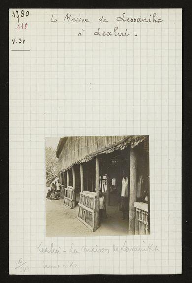 La Maison de Lewanika à Lealui