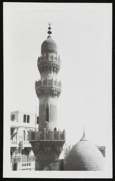 Le Caire, un minaret