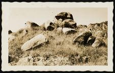 "Un bloc de pierre nommé le Vazimba ""Rabesatraka&quot"