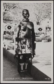 Ndebele Girl, Transvaal