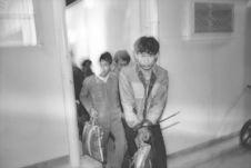 Arrestation d'immigrants clandestins chinois. Hong-Kong, 1987