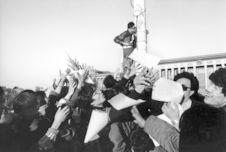Tiananmen, Pékin, 1989