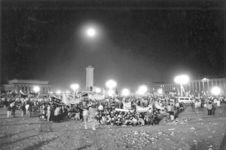 Place Tiananmen, une semaine avant la répression. Pékin, 1989
