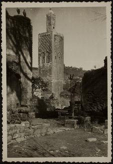 Chellah [minaret et ruines]