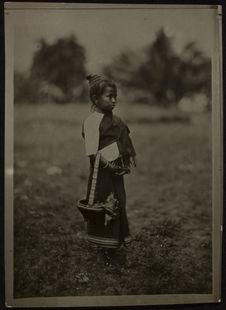 Fillette laotienne