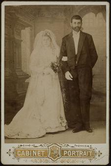 Seropé Gulbenkian [portrait de mariage]