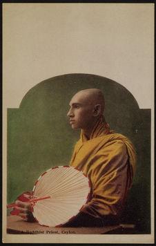 A buddhist priest