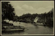 Padda boat and river scene