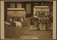 Le rêve de Maya avec l'éléphant blanc