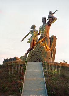 Senegal, African Renaissance, Dakar 2013