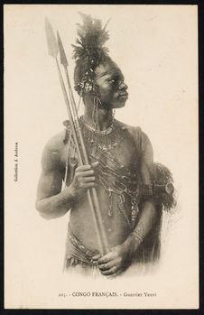 Congo Français. - Guerrier Yenvi