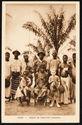 Gabon - groupe de chrétiens indigènes