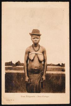 Une élégante. Bas Congo
