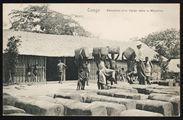 Congo. Réception d'un Cargo dans le Mayumbe