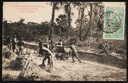 Un des premiers Chantiers du Chemin de fer Pointe Noire