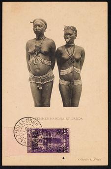 Femmes Mandja et Banda
