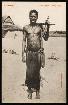 Congo. Type Tégué. Haut Alima