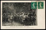 Un chef de poste de Pangala partant en expédition contre les Babembés soulevés
