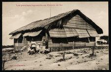 Les premiers logements au chemin de fer