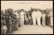 Arrivée de Bankoua, roi des Batékès