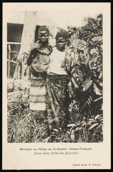 Deux amies (tribu des Basundis)