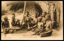 Congo Français. Scène de Tchikoumbis. Loango