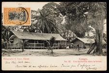 Congo. Une factorerie dans la brous