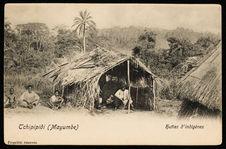 Huttes d'indigènes