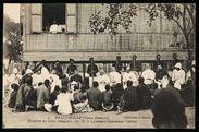 Réception des chefs indigènes, chez M. le lieutenant-gouverneur Cureau