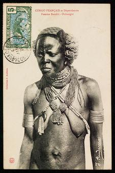 Femme banziri - Oubangui
