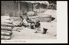 Mayombes no Rio Chiloango