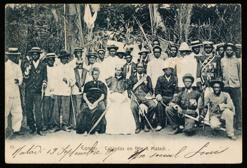 Cabindas en fête à Matadi