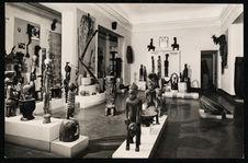 Une des salles latérales du Musée d'Abidjan