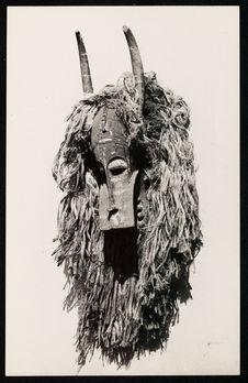 Masque rituel, zoomorphe, des Sénoufo